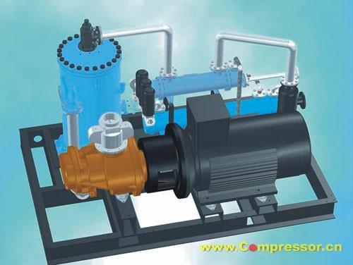 介绍了活塞式无油润滑空气压缩机及螺杆式空气压缩机的结构,工作原理