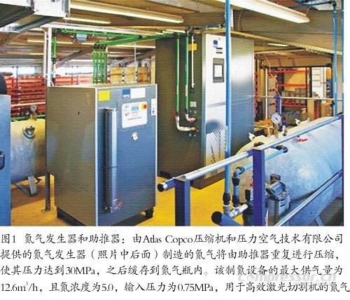 新型压缩空气方案制备高纯氮气助力激光应用