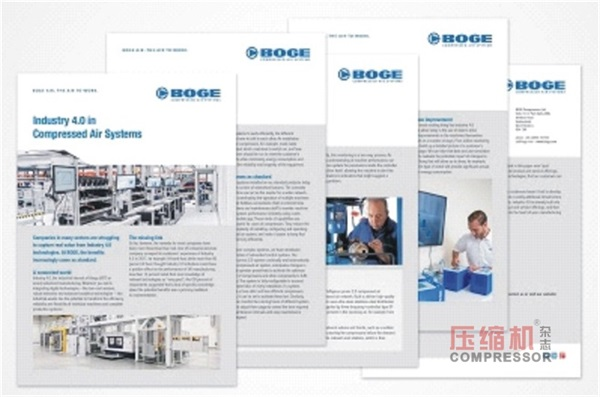 BOGE reveals how to implement industry 4.0-compliant compressors