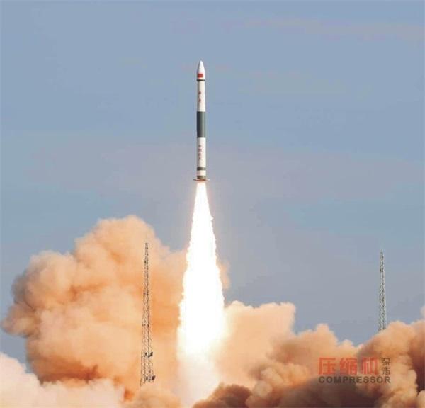 自主压缩空气系统三次力保运载火箭升空