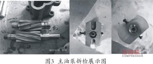 往复压缩机主油泵断轴原因分析及改进