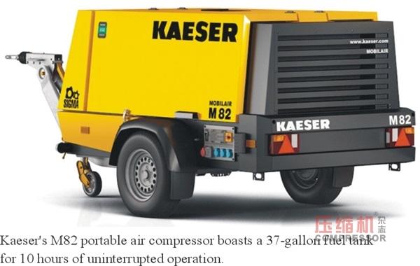 Kaeserunveils M82 portable air compressor