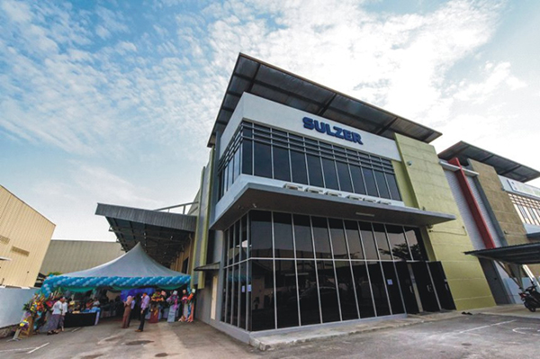 Sulzer opens Malaysian Service Center