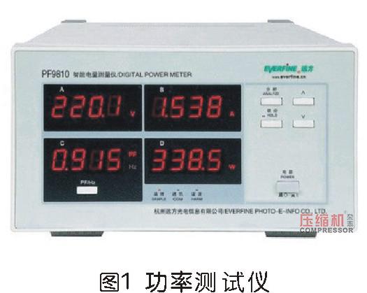 直连往复活塞式空压机的效率问题浅析