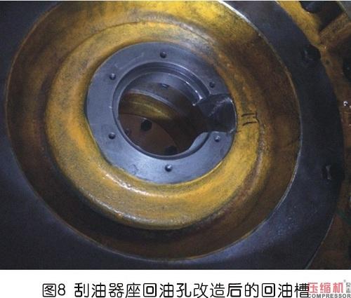 往复式压缩机刮油器漏油分析及改造
