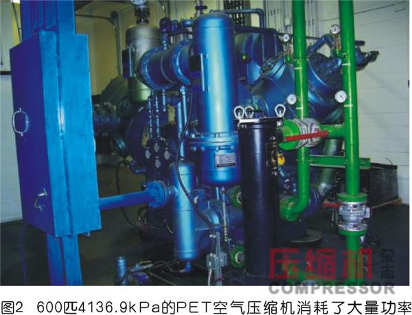 企业无油压缩空气系统节能应用