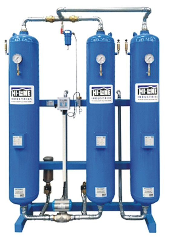 Need high-quality compressed air fast?Hi-line's dryer rental scheme provides the answer