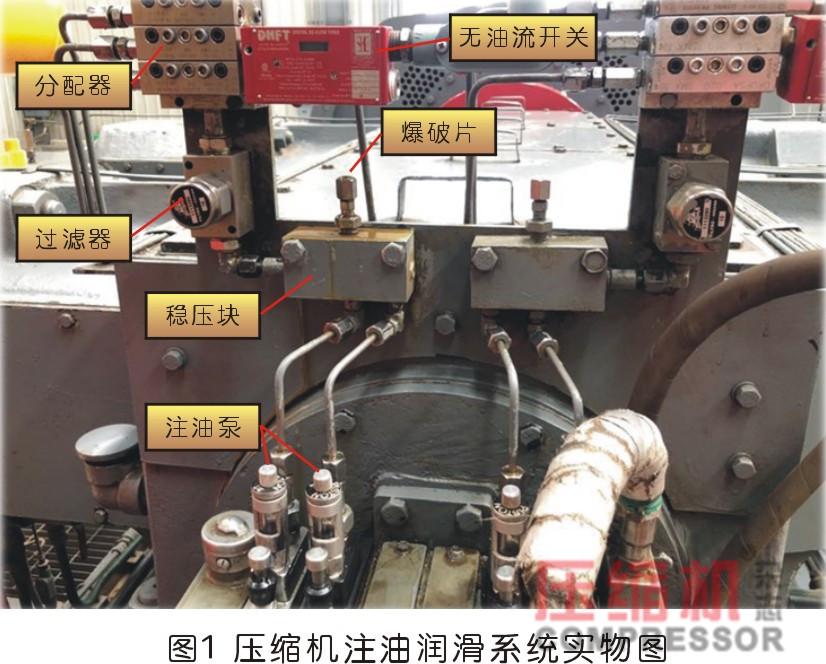 地下储气库压缩机注油系统常见故障分析