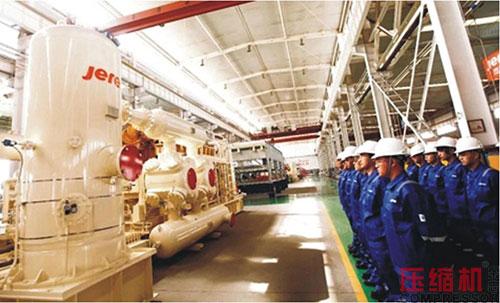 杰瑞中标高排气压力螺杆式压缩机组