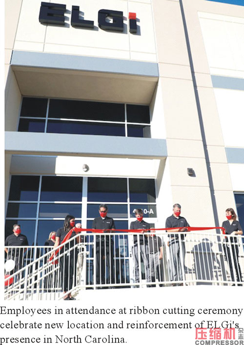 ELGi North America opens new headquarters