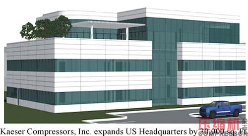 Kaeser expands US headquarters